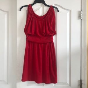 Red dress, Jr's size small